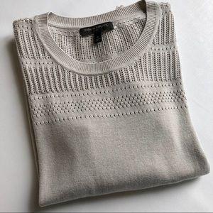 Banana Republic Gray Lightweight Sweater